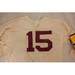 White Football Jersey without Centennial patch