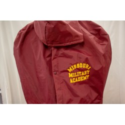 Maroon Football Poncho